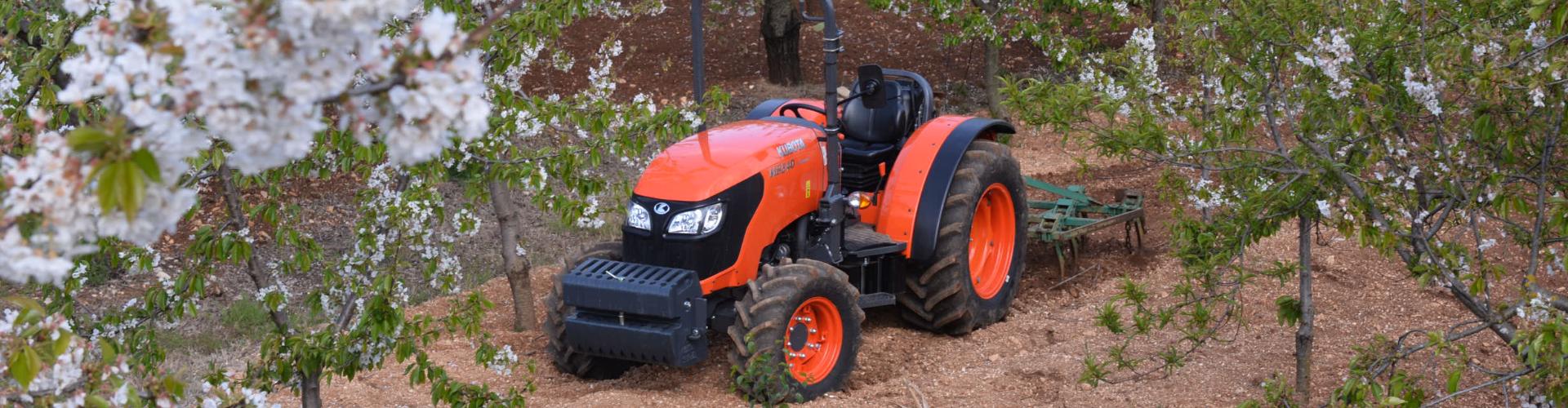 Narrow Tractors
