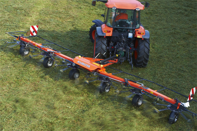 Maszyny Zielonkowe TE6583T-TE8511T - KUBOTA