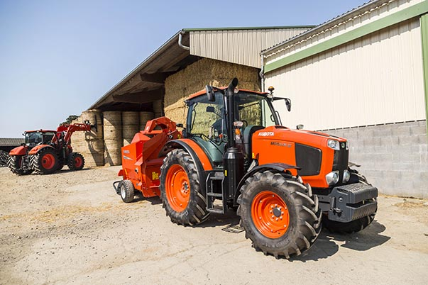 Agricultural Tractor MGXIII - KUBOTA