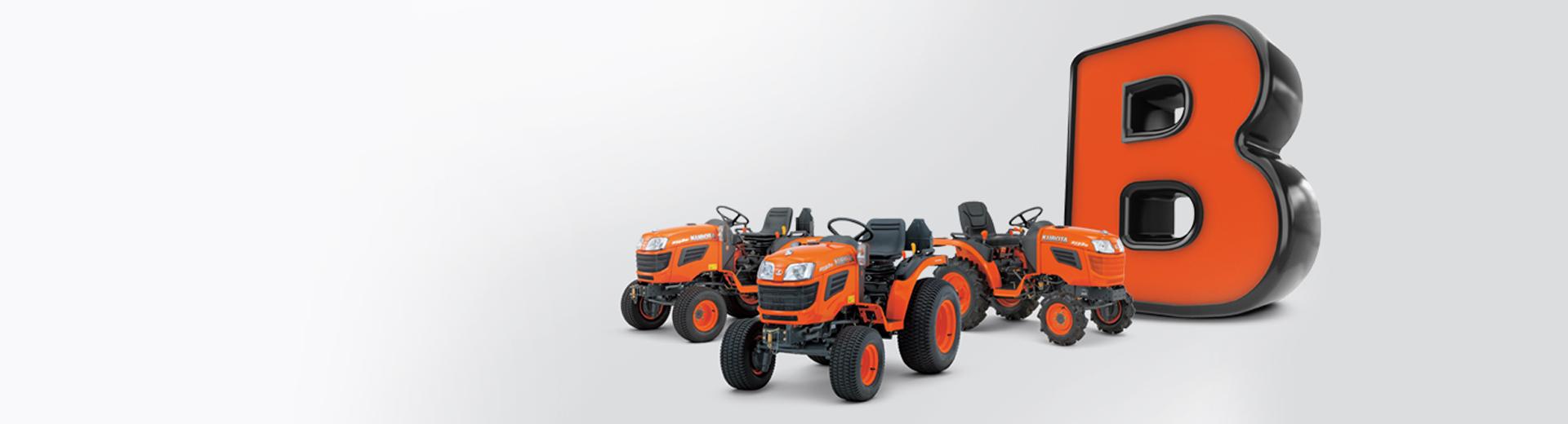 Miniciągniki Kubota z serii B20 I BX już od 6000 zł netto